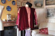 Abito Costume Storico Medievale Maschile Art QM 44