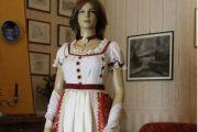 VESTITO STORICO FEMMINILE 1800 art. OF004