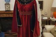 Abito Costume Storico Medievale femminile Art QF 022