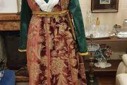 Abito Costume Storico Medievale femminile Art QF 027