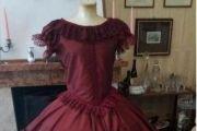 VESTITO STORICO FEMMINILE 1850