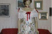 VESTITO STORICO FEMMINILE 1800 art OF O11