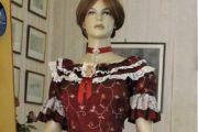 VESTITO STORICO FEMMINILE 1800 art OF 010