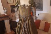 Abito Costume Storico Rinascimentale Femminile 1500 Art CF 007