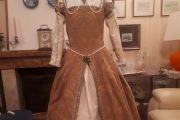 Abito Costume Storico Rinascimentale Femminile 1500 Art CF 008