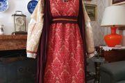 Abito Costume Storico Medievale femminile Art QF 042