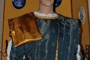 Abito Costume Storico Medievale Maschile Art QM 42